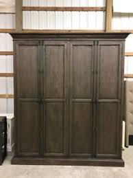 4 Door Cabinet Restoration Hardware Panel 4 Door Cabinet Brown 92 W 103 H