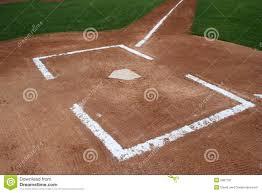 baseball home plate stock image image 5807191