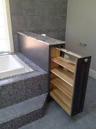 clever bathroom ideas bathtub with clever storage ideas trends4us