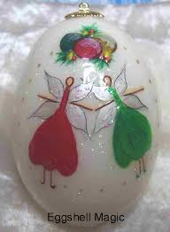 personalized ornaments by eggshell magic