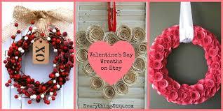 valentines day wreaths 15 diy s day wreath ideas