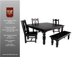 san rafael dining table dining room furniture