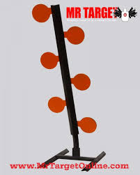 armored dueling tree armored steel reactive target mr target