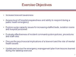 incident command table top exercises hospital logo hospital name bioevent tabletop exercise moderated
