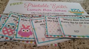 free printable easter lunch box jokes kellys thoughts on things