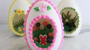 sugar easter eggs how to make panoramic sugar eggs