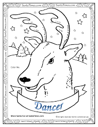 dancer the reindeer