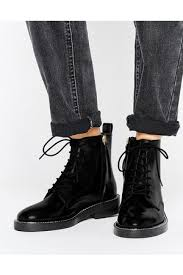 womens boots asos buy asos s lace up boots fashiola com au compare