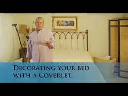 How To Make A Bed With A Duvet Making Your Bed With A Coverlet And Duvet Cover Www Verolinens