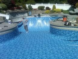 picture of vinyl pool liners decorative vinyl pool liners