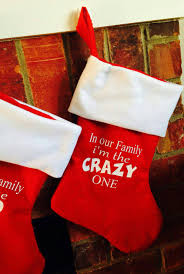 family christmas stockings red christmas stockings funny