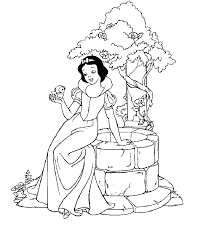 20 free printable snow white coloring pages snow