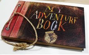 my adventure book diy vintage gift handmade photo album