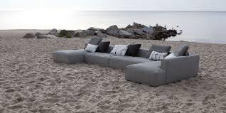 canapé chauffeuse modulable canapé modulable contemporain en tissu 6 places liam sits