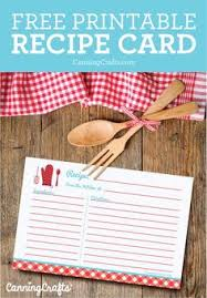 free recipe card template printable card templates printable