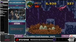 sgdq 2016 the land before time russian restream youtube