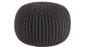 Knitted Ottoman Knitted Ottoman Pouf House Decorations