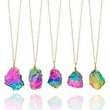 natural stone necklace pendant images Healing stone necklaces chakra necklace for women jpg