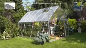 outdoor palram greenhouse balance 8x12 with grey paint aluminium