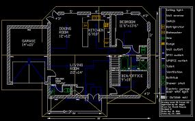 autocad floor plan beautiful home design ideas enhomedesign