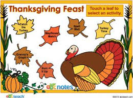 thanksgiving themed smartboard activity smart notebook lessons