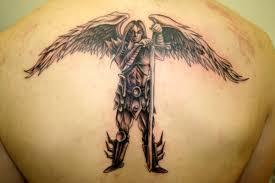 guardian forearm tattoos for guardian warrior