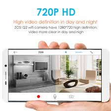 interior home security cameras zosi wireless ip cameras baby monitor home security camera 720p