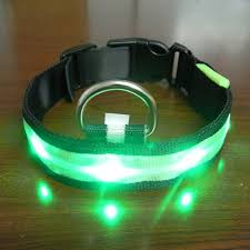 dog collar lights waterproof vogue safety adjustable pets dog led lights flash night waterproof