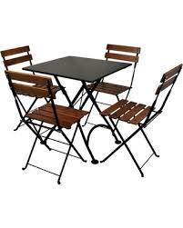 Folding Patio Dining Set Holiday Special Outdoor Furniture Designhouse French Cafe Bistro