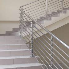 stainless steel banister rails railing components elbows tees crosses industrial metal supply