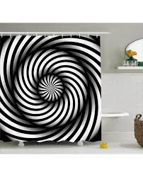 Swirl Shower Curtain Shower Curtain Black And White Swirl Print For Bathroom