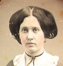 hair style of 1800 dag of pretty 1850s girl with an unusual hairstyle great photos