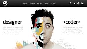 homepage designer how to use balanced symmetry in web design