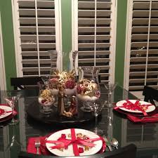 Christmas Table Decoration Ideas Gold by 203 Best Christmas Holiday Tables U0026 Chairs Images On Pinterest