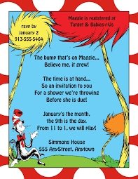How To Design An Invitation Card Dr Seuss Party Invitations Theruntime Com