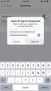 sign into icloud on android how to log into facetime messages in ios 11 with alternate