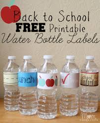 thanksgiving water bottle labels convenient u0026 fun drinks for back to lunches with free