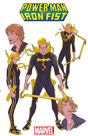Iron Fist Halloween Costume Sweet Christmas Power Man Iron Fist Daily
