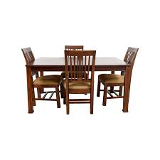 43 off macy u0027s macy u0027s craft mission shaker table and chairs tables