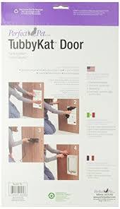 Interior Cat Door With Flap by Perfect Pet Tubby Kat Cat Door With 4 Way Lock And Lexan Flap