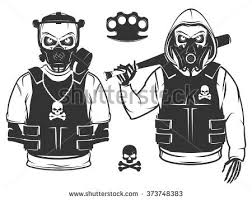 skull gas mask stock images royalty free images u0026 vectors