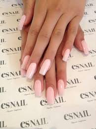 Light Pink Acrylic Nails Best 25 Square Acrylic Nails Ideas On Pinterest Gray Nails