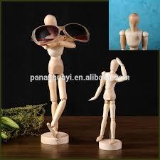 wooden manikins joinet wooden manikins model eyeglass holder stand toys 4 5inch