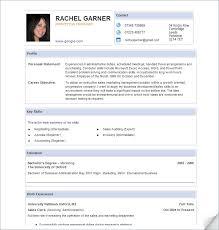 Sample Resume Doc Samples Of Excellent Resumes Good Sample Resume Templates Best