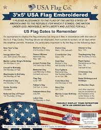 The Flag Of Usa Amazon Com American Flag By Usa Flag Co Is 100 American Made