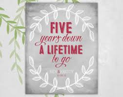 five year anniversary ideas 5 year anniversary quotes for him search happiness