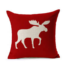 Outdoor Christmas Pillows by Captivating Diamond Red Cotton Red Throw Pillows Perfect To Sofa