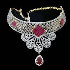 beautiful necklace photos images Beautiful ad necklace set ad necklace set bhuleshwar mumbai jpg