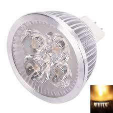 mr16 4w 4 led 320 lumen warm white light led spotlight energy