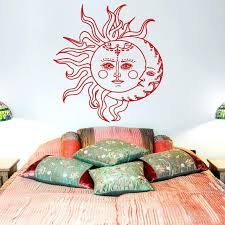 wall ideas mandala tapestry mehendy henna ethno mandala wall bohemian wall art uk bohemian elephant wall art bohemian wall art diy sun and moon wall decal sticker crescent moon decor ethnic symbol wall decals bedroom